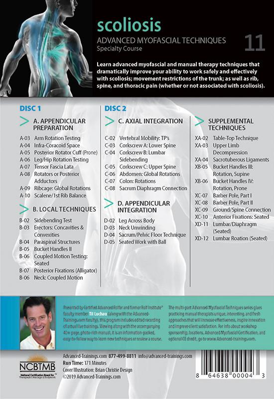 Advanced Myofascial Techniques: Scoliosis (Online Video)