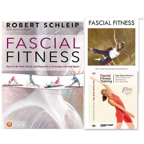 Fascial Fitness: Book & 2 DVDs