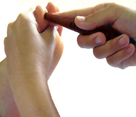 2 Reflexology Sticks