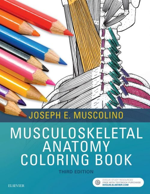 Musculoskeletal Anatomy Coloring Book, 3rd Edition