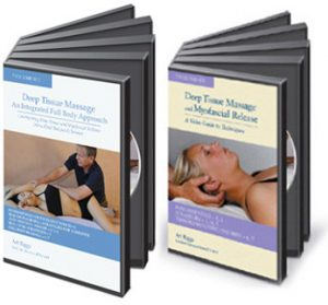 Deep Tissue Massage Bundle 2 DVD sets
