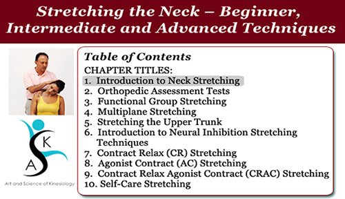 Stretching the Neck
